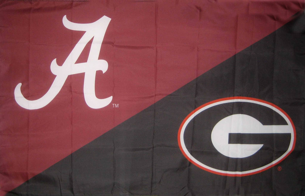 Alabama & Georgia House Divided Flag