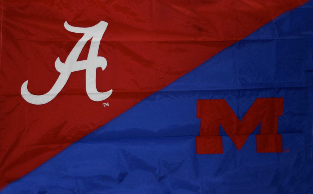 Alabama & Mississippi House Divided Flag