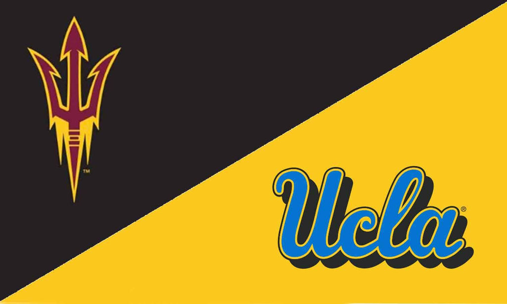 Arizona State & UCLA House Divided Flag
