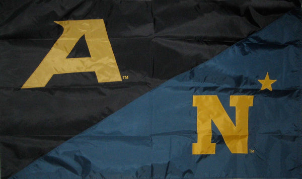 Army & Navy House Divided Flag