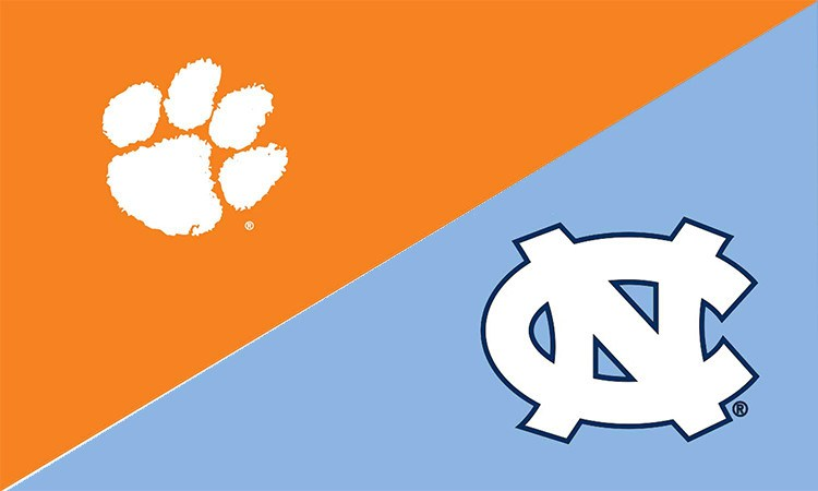 Clemson & North Carolina House Divided Flag