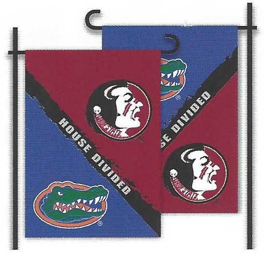 Florida & Florida State House Divided Garden Flag
