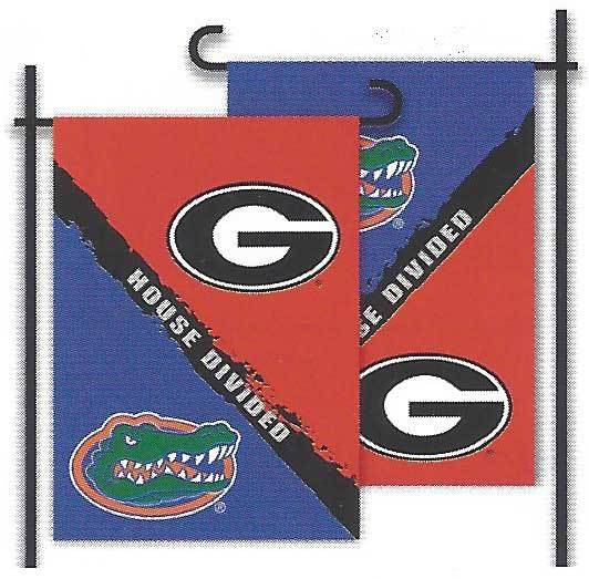 Florida & Georgia House Divided Garden Flag