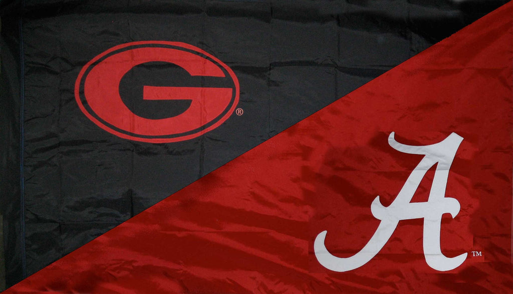 Georgia & Alabama House Divided Flag