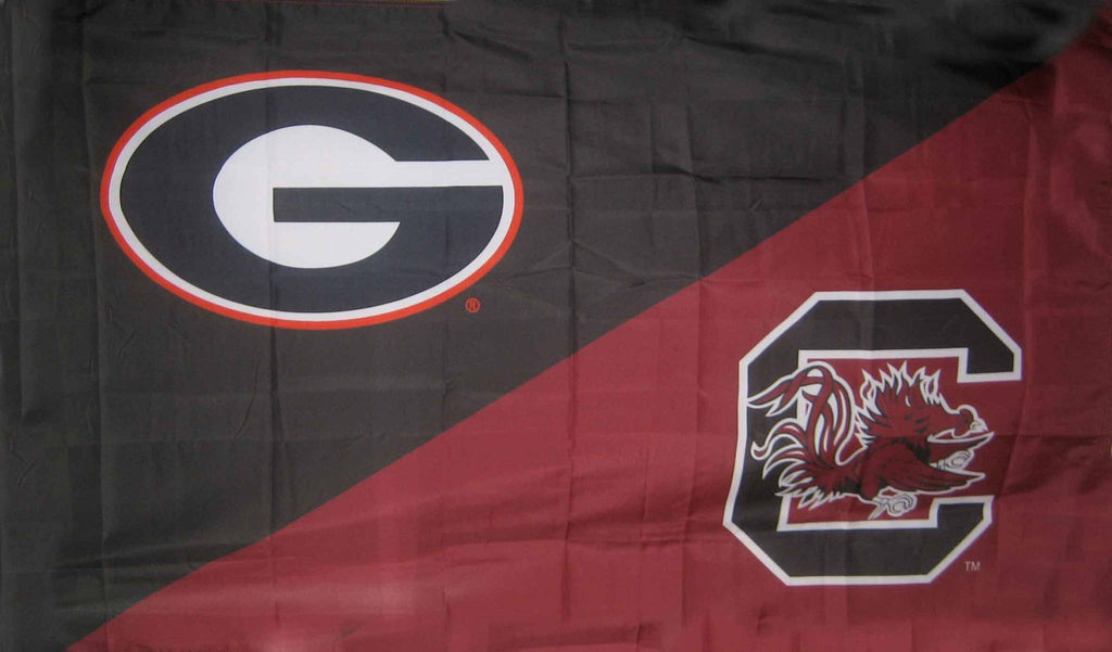 Georgia & South Carolina House Divided Flag