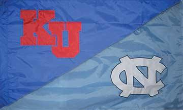 Kansas & North Carolina House Divided Flag