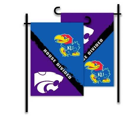Kansas & Kansas State House Divided Flag