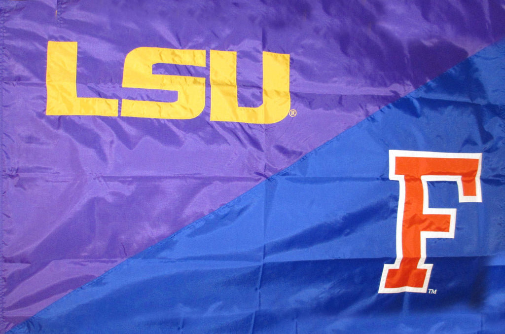 LSU & Florida House Divided Flag