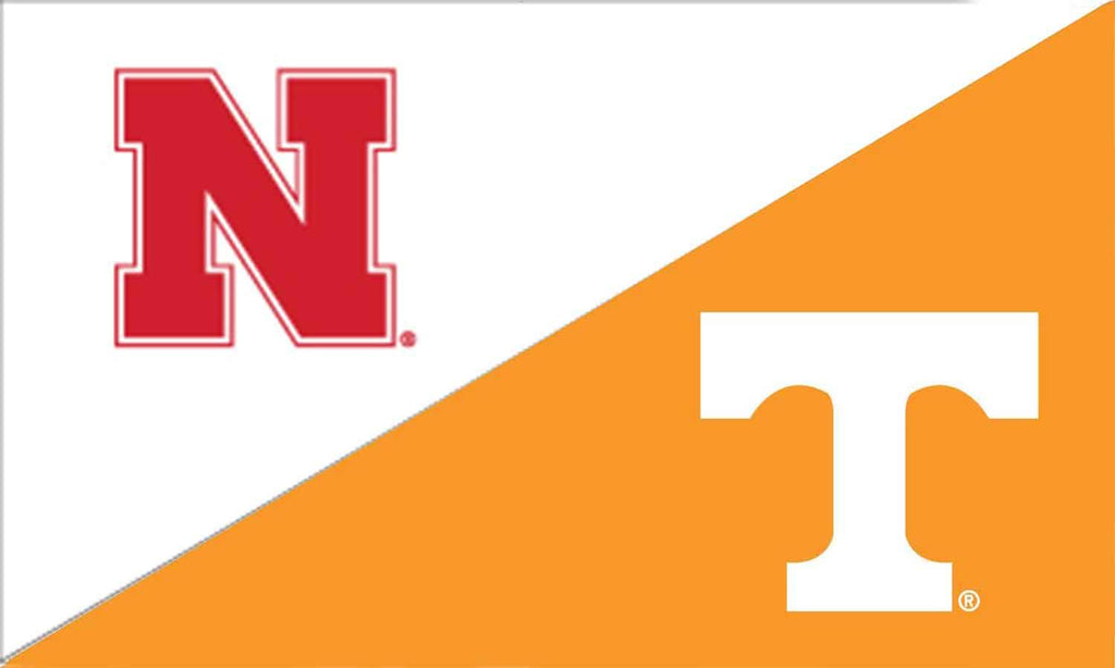 Nebraska & Tennessee House Divided Flag