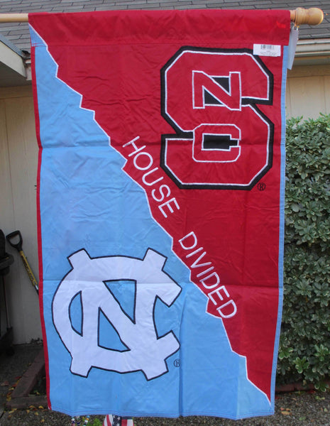 North Carolina State & North Carolina Banner Flag