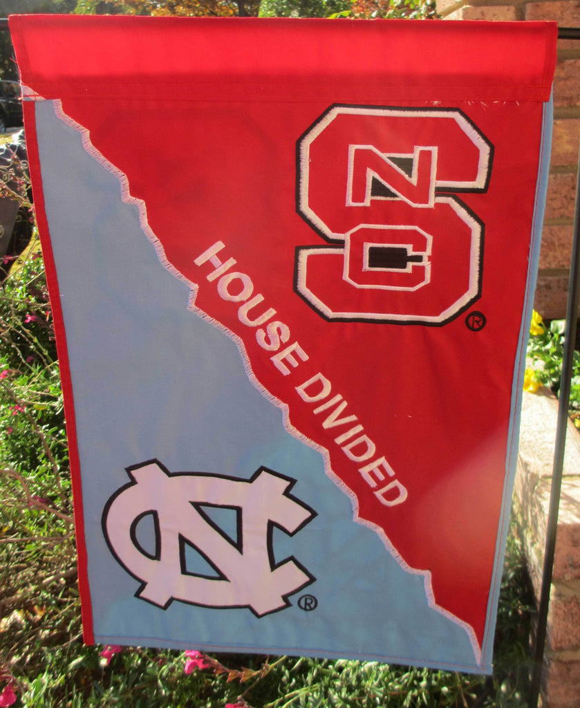 North Carolina & North Carolina State House Divided Garden Flag
