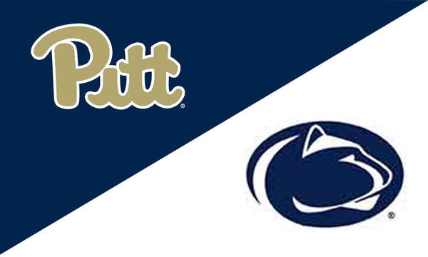 University of Pittsburgh and Penn State House Divided Flag