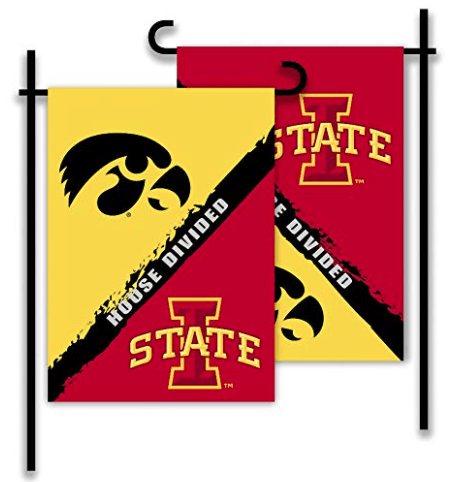 Iowa & Iowa State House Divided Flag
