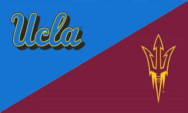 UCLA & Arizona State House Divided Flag