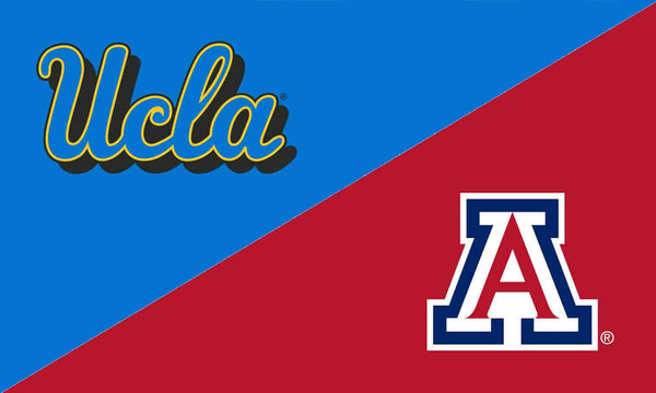 UCLA & Arizona House Divided Flag