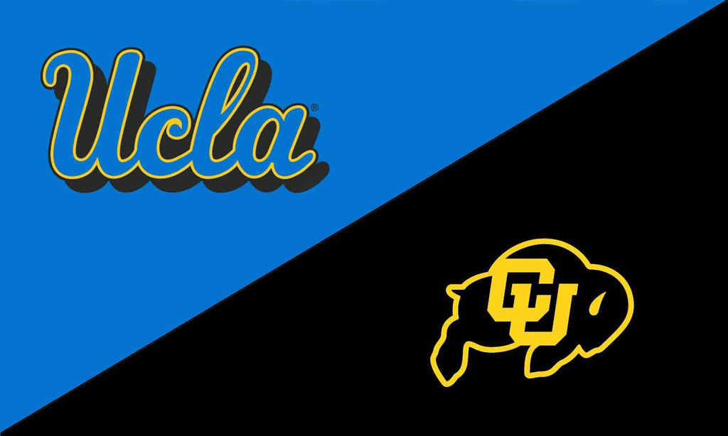 UCLA & Colorado House Divided Flag