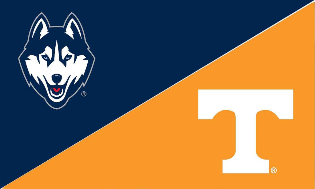 UCONN and Tennessee House Divided Flag