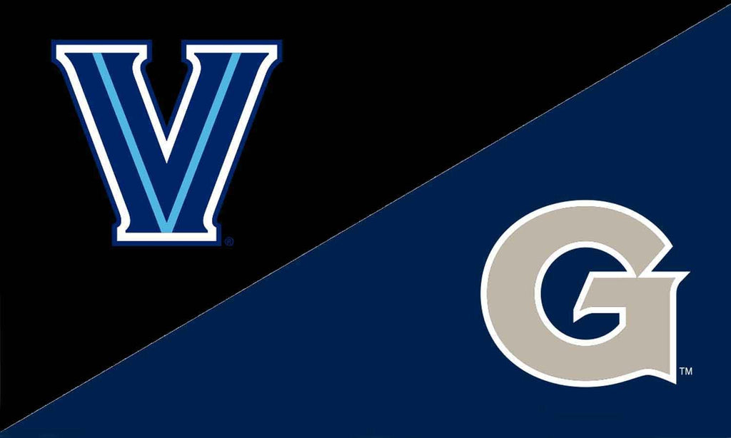 Villanova & Georgetown House Divided Flag