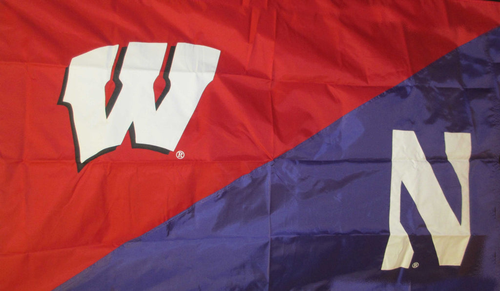 Wisconsin & Northwestern House Divided Flag