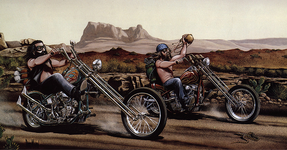 David Mann happened at the 95th Anniversary of Harley-Davidson in Milwaukee - Sacred Steel Bikes