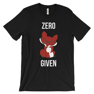 Zero Fox Given Men's Tee