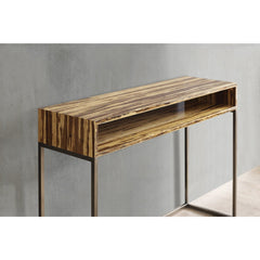 Greenington Modern Bamboo Toronto Solid Exotic Tiger Bamboo Console Table G0057T