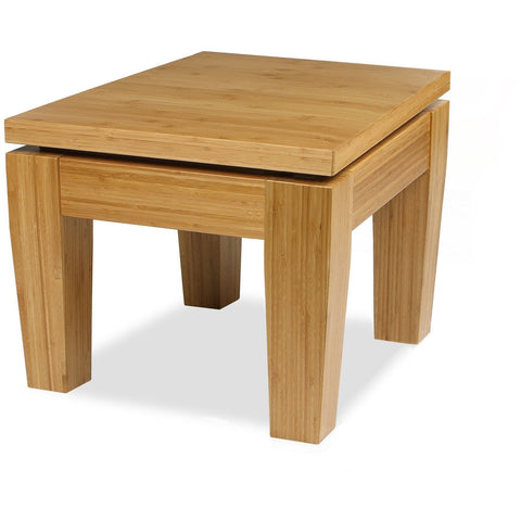 Bamboogle Modern Solid Bamboo Rio Side Table Side Tables - bamboomod