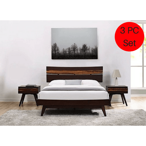 Greenington Modern Bamboo Azara Platform California King Bedroom Set (Includes: 1 California King Bed & 2 Nightstands)