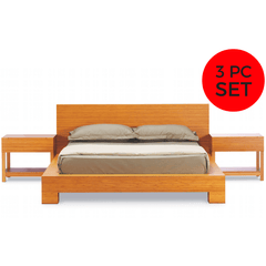 Greenington Modern Orchid Eastern King Bedroom Set (Includes: 1 Eastern King Bed & 2 Nightstands) Beds - bamboomod