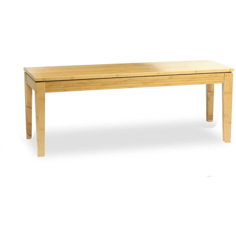 Bamboogle Modern Solid Brazil Bamboo Bench Benches - bamboomod