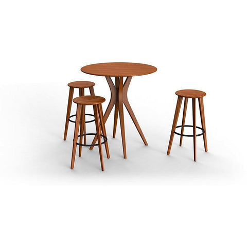 "Greenington Modern Bamboo Mimosa 36"" Dining Table Bar Tables - bamboomod"