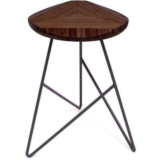 Brave Space Design Modern Bamboo Acute Low Stool Bar Stools - bamboomod