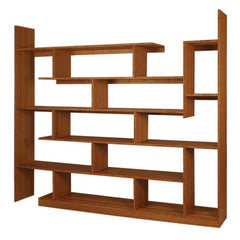 Brave Space Design Modern Bamboo Stagger Major Shelving - bamboomod