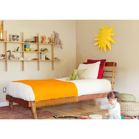 El Dot Designs Sustainable Bamboo La Primitive Twin Bed Beds