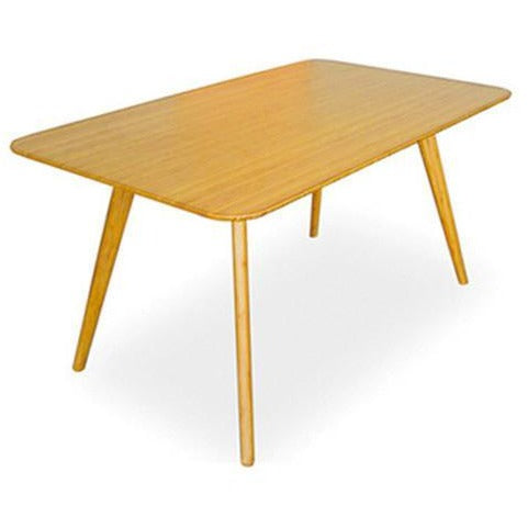 "Greenington Currant Modern Bamboo 60"" Dining Table Dining Tables - bamboomod"