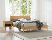 Greenington Ria Queen Platform Bed, Caramelized - ECO015CA