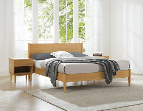 Greenington Ria Eastern King Platform Bed, Caramelized - ECO016CA