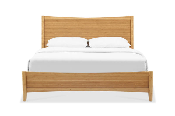 Greenington Willow Eastern King Platform Bed, Caramelized - Beds - Bamboo Mod - 1
