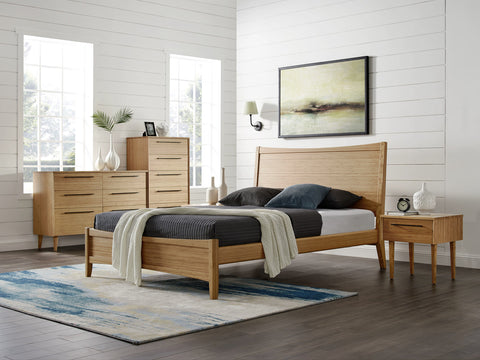 Greenington Willow Eastern King Platform Bed, Caramelized - Beds - Bamboo Mod - 9