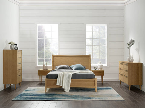 Greenington Willow Eastern King Platform Bed, Caramelized - Beds - Bamboo Mod - 10