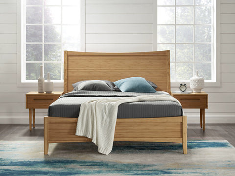 Greenington Willow Eastern King Platform Bed, Caramelized - Beds - Bamboo Mod - 11