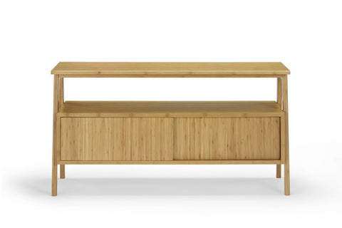 Greenington Terrace Media Unit, Caramelized - Media Cabinet - Bamboo Mod - 2