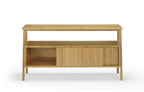Greenington Terrace Media Unit, Caramelized - Media Cabinet - Bamboo Mod - 3
