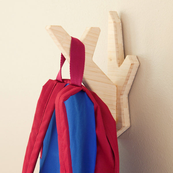 El Dot Designs Modern Sustainable Bamboo Branch Wall Hook Wall Hangers - bamboomod