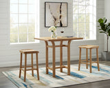 Greenington Tulip Bar Height Table, Caramelized - Side Tables - Bamboo Mod - 5
