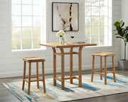 Greenington Tulip Counter Height Table, Caramelized - Side Tables - Bamboo Mod - 5