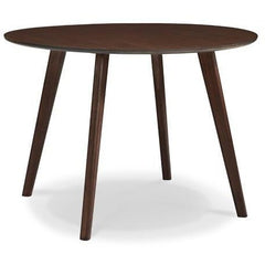 "Greenington Currant Modern Bamboo 42"" Round Dining Table Dining Tables - bamboomod"