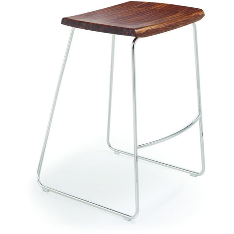 Greenington Modern Bamboo City Lights - Paris Counter Height Stool w/o Back Bar Stools - bamboomod