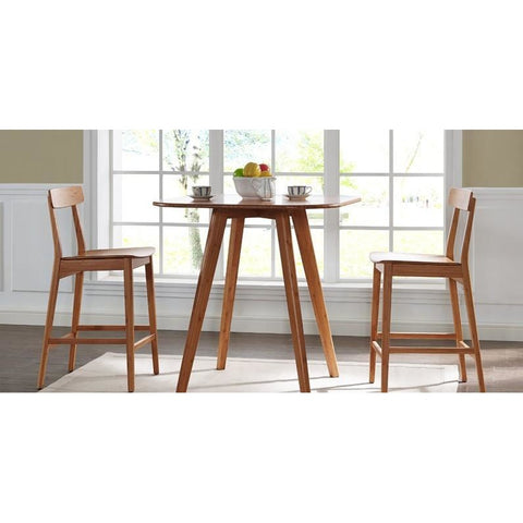 "Greenington Currant Modern Bamboo 30"" Bar Height Stool Bar Stools - bamboomod"