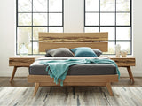Greenington Azara Modern Solid Bamboo Queen Platform Bed Beds - bamboomod